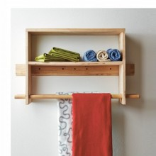 Towel Rack & Clothes Hanger