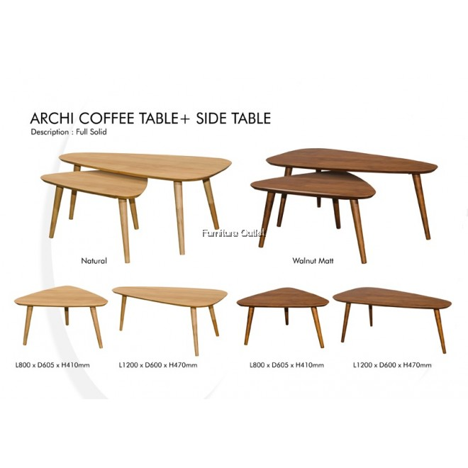 ARCHI(8560) COFFEE+SIDE TABLE