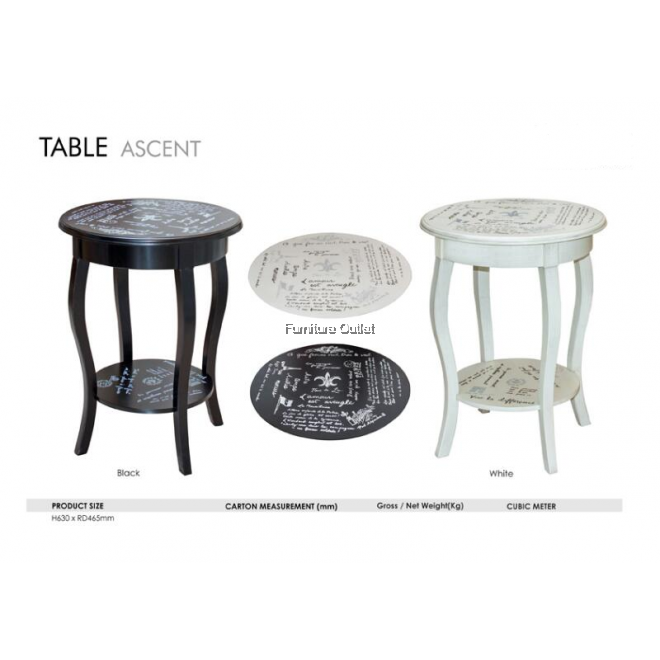ASCENT TABLE