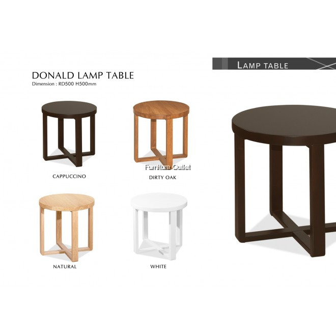 DONALD D500 RD LAMP TABLE