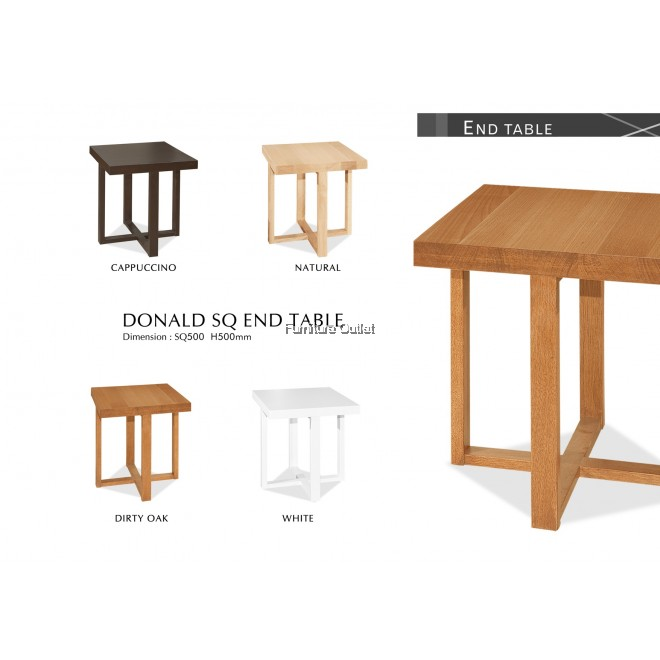 DONALD SQ END TABLE