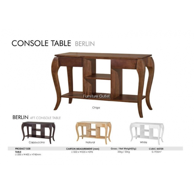 BERLIN CONSOLE + MIRROR FRAME