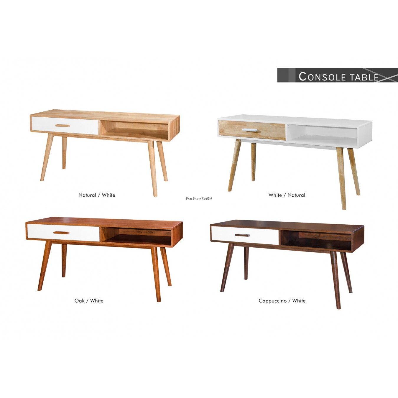 HOLLYWOOD CONSOLE TABLE 4'