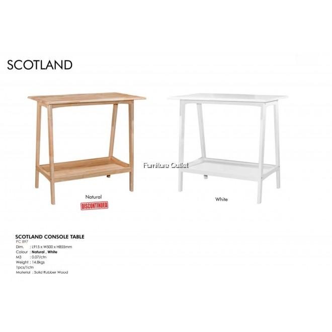 SCOTLAND CONSOLE TABLE