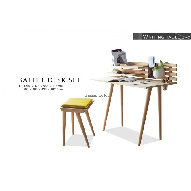 BALLET DESK SET C/W CHAIR