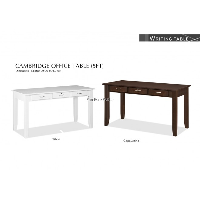 CAMBRIDGE 5FEET OFFICE TABLE