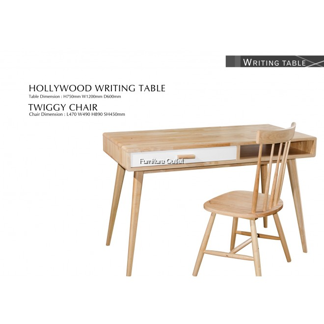 HOLLYWOOD WRITING TABLE