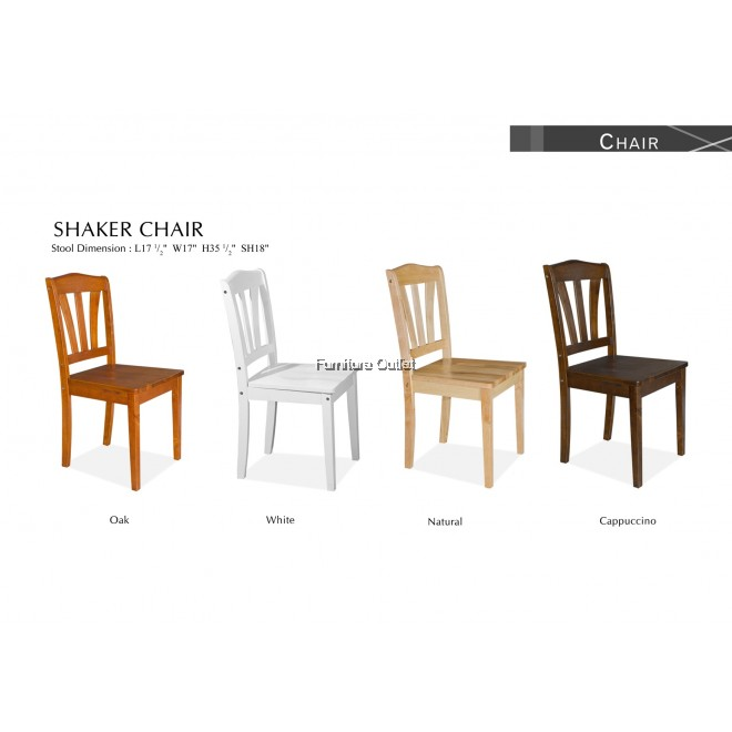 SHAKER CHAIR CAPPUCINO