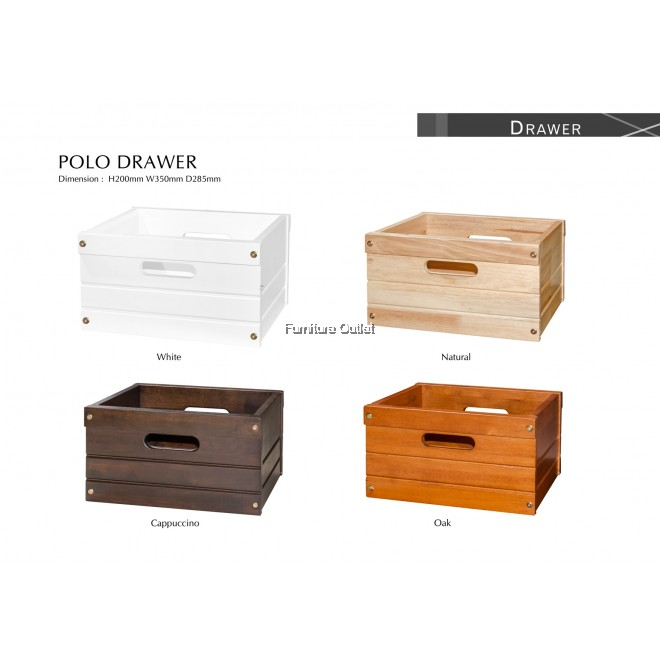 POLO COLOR BOX -DRAWER ONLY