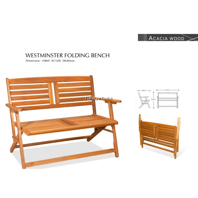WESTMINSTER FOLDING BENCH