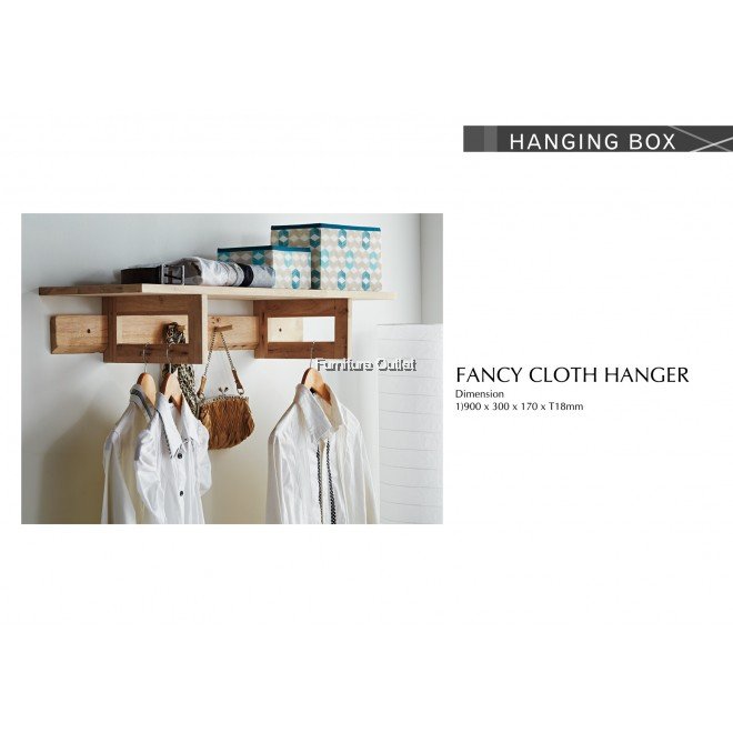 FANCY CLOTH HANGER