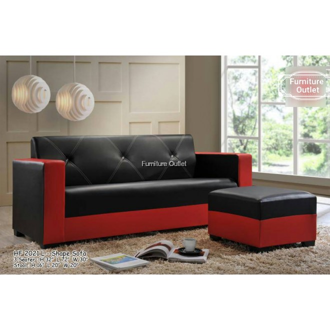 HF 2021 L- Shape Sofa