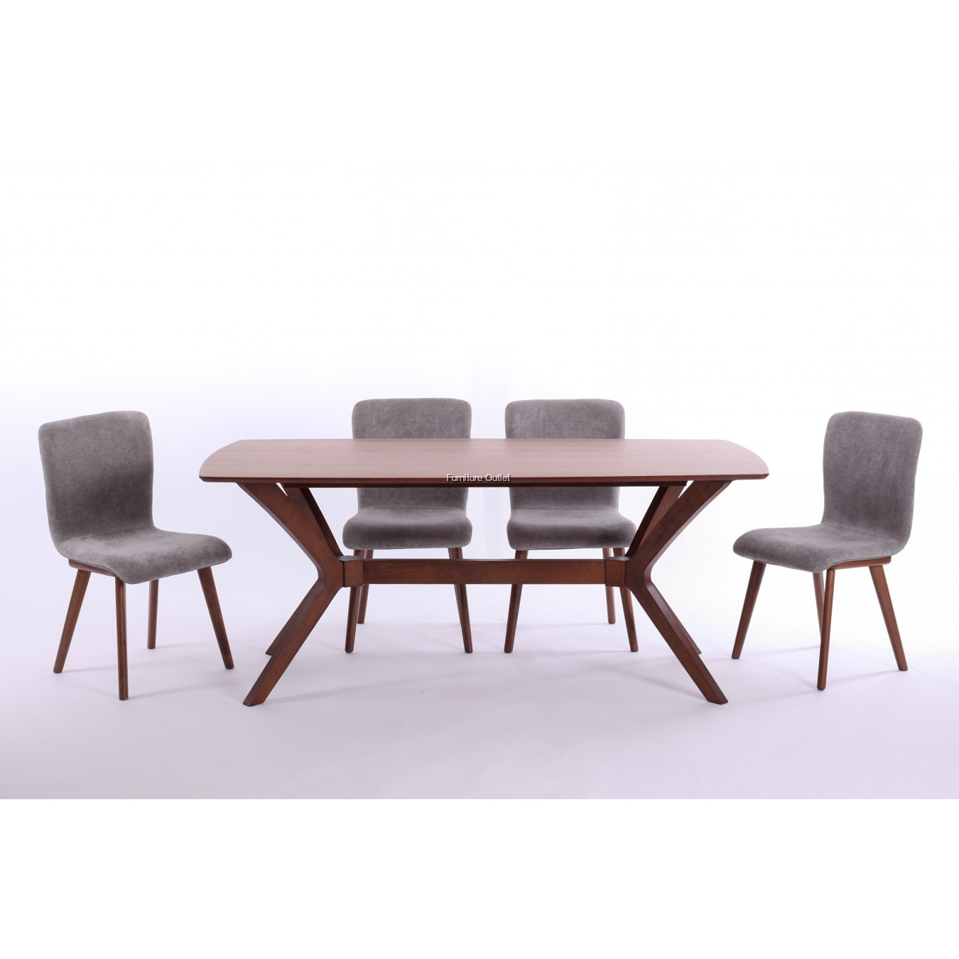 Abbie Dining Set 1+6