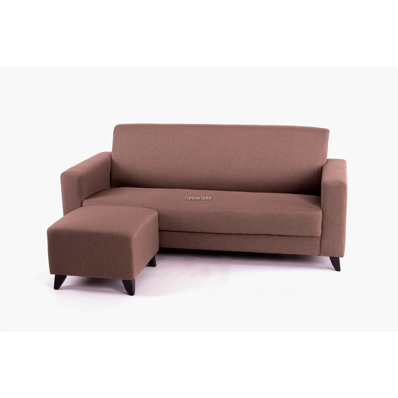 Swedes Sofa 3 Seater +Stool