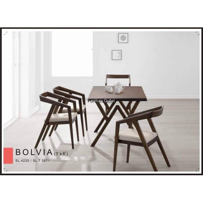 Bolvia Dining Set 1+6
