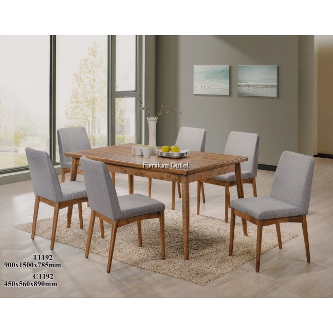 Kylie dining set 1+6