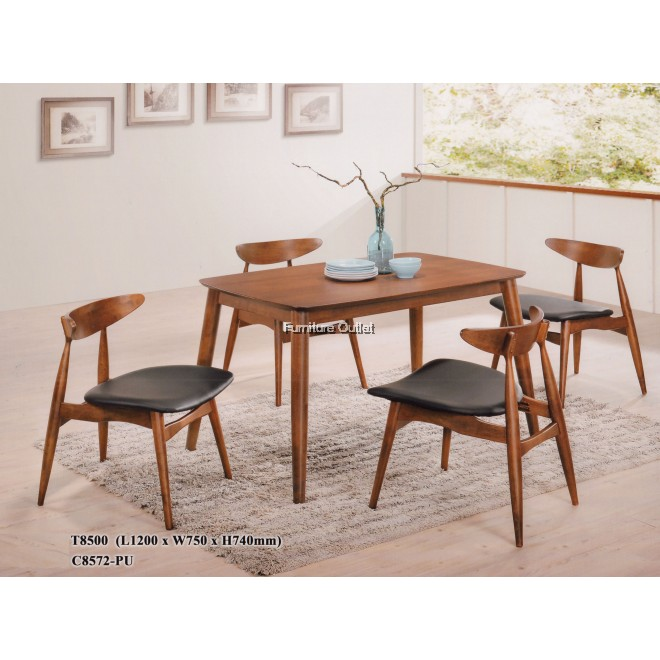 Abby dining set 1+4