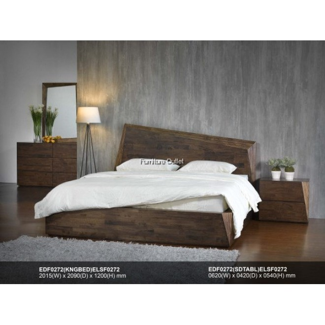 (ED0272) COLUMBA BED - KING or QUEEN