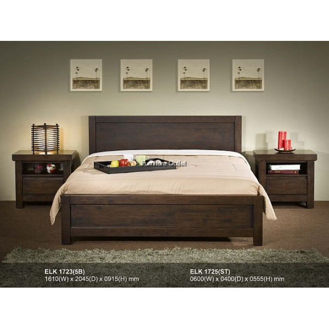 BROWNY 1723 BED - KING or QUEEN