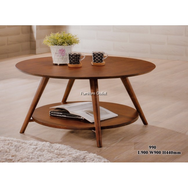 Gabriel coffee table round 90D x H44