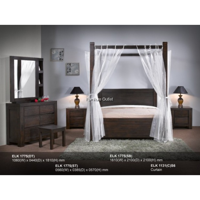 ADELINE 1775 BED - QUEEN or KING