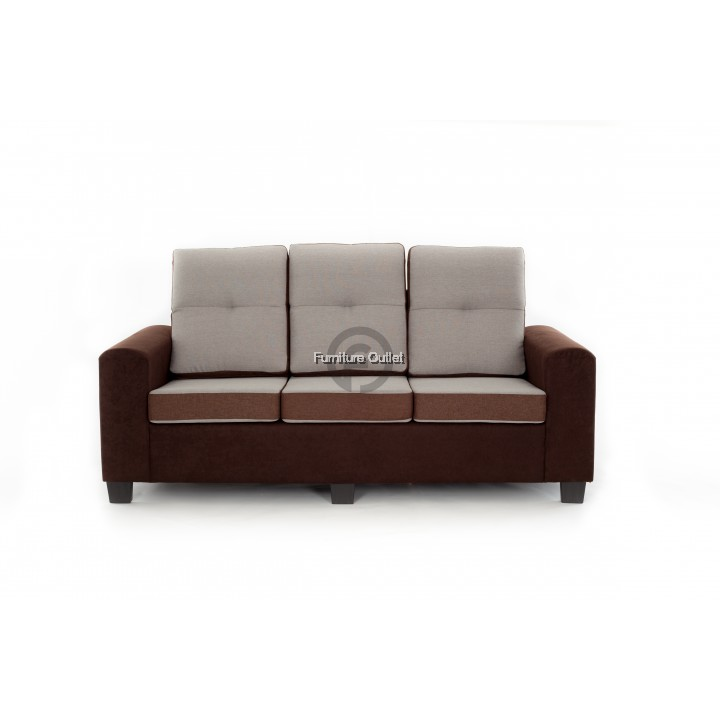 ALLEY SOFA 3 SEATER + 1 STOOL