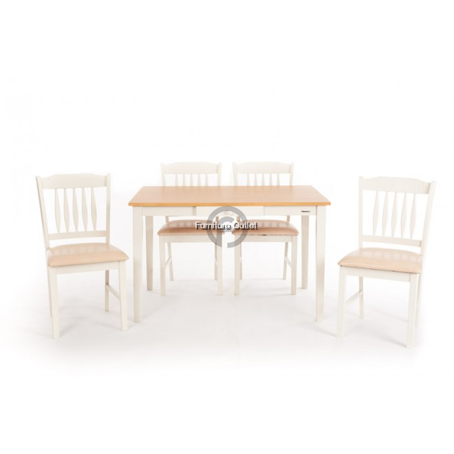 GREECE  DINING SET 1+4