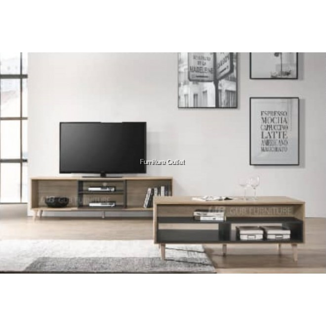CITY TV CABINET - 4' OR 6'