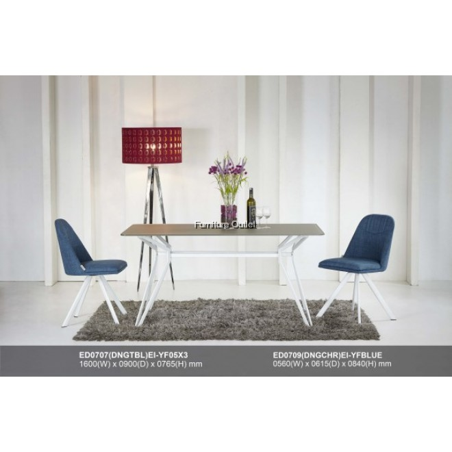 (ED0707) EILIE 0707 DINING TABLE - RECTANGLE or ROUND
