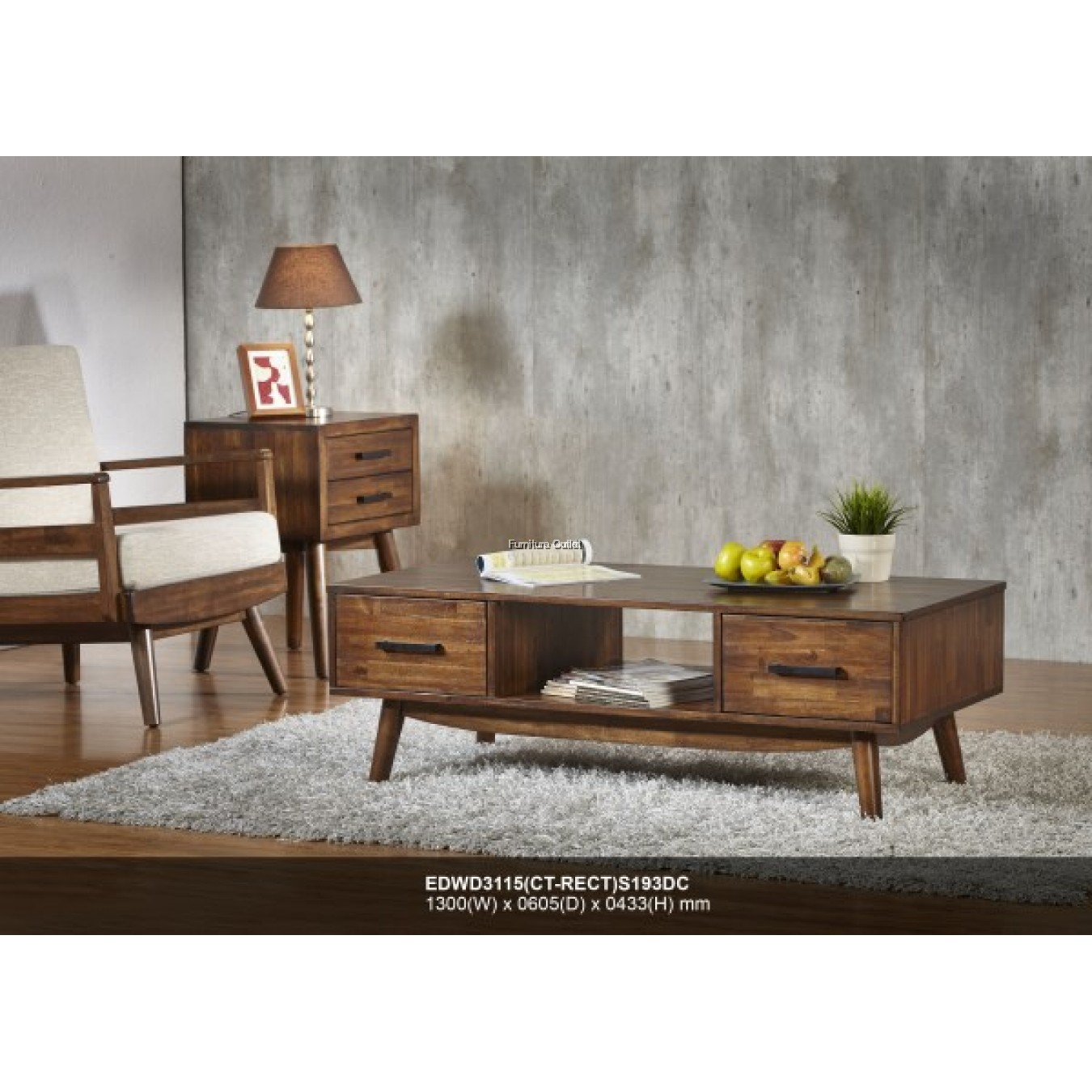 (EDWD3115) AMAZON SERIES 3115 COFFEE TABLE