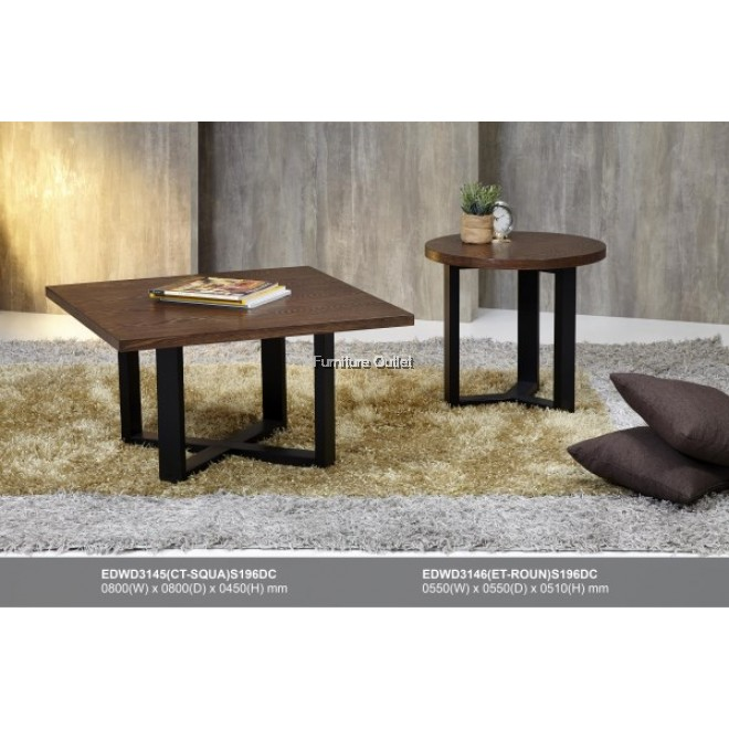 SHAWN COFFEE TABLE - EDWD 3144 / 3145 / 3146