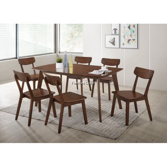 Zoey Dining Set 1+6