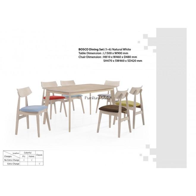 BOSCO 150CM DINING TABLE