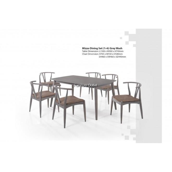 MIZZO DINING TABLE 150CM