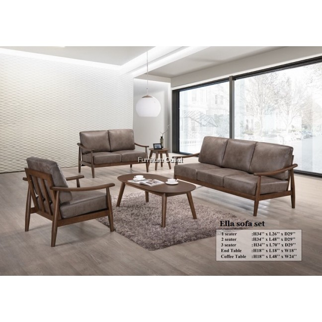 Ella sofa set 1+2+3