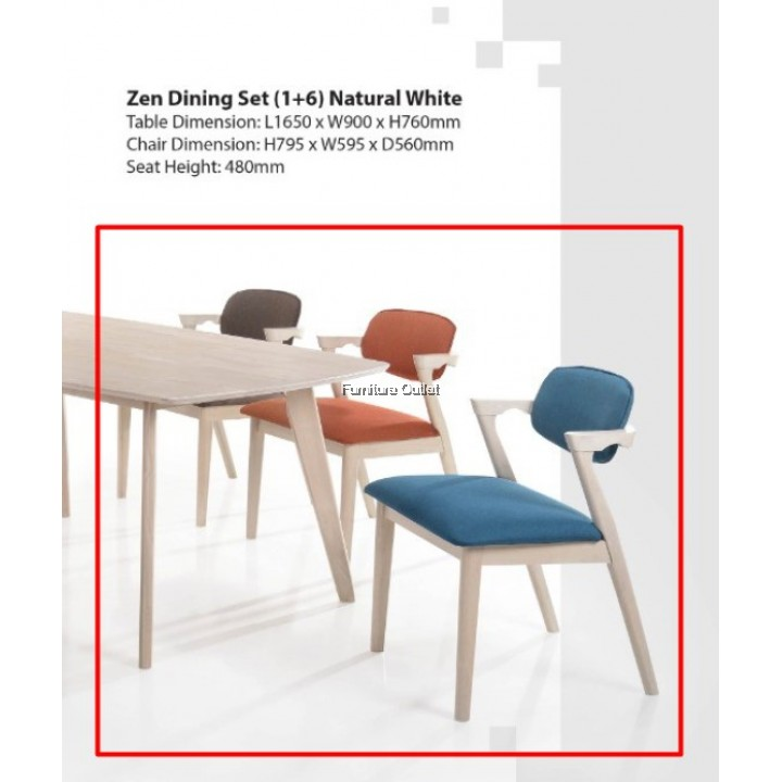 ZEN DINING CHAIR - CAN DIY COLOR