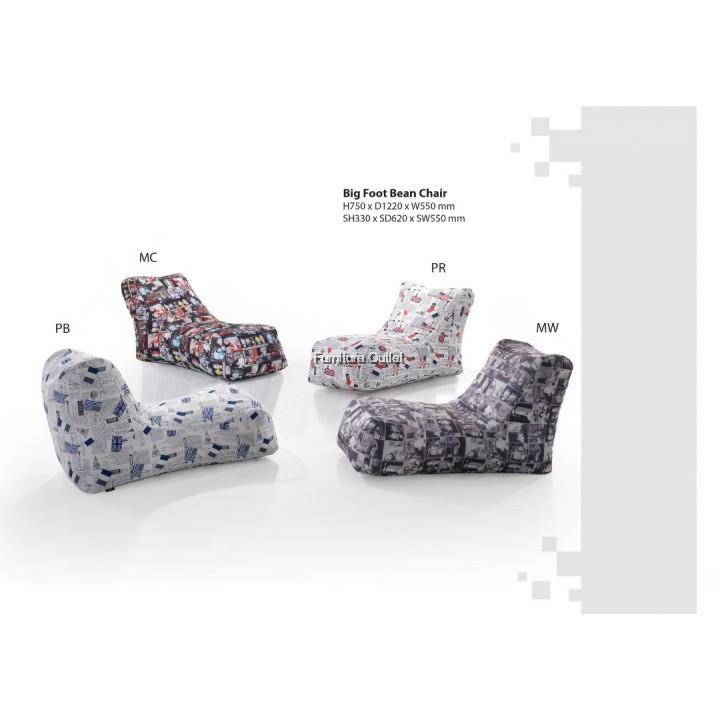 LAZY SOFA / LOUNGE CUSHION CHAIR - MC SERIES BIG FOOT CHAIR