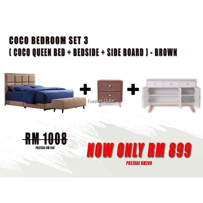 COCO QUEEN BEDROOM SET - 3