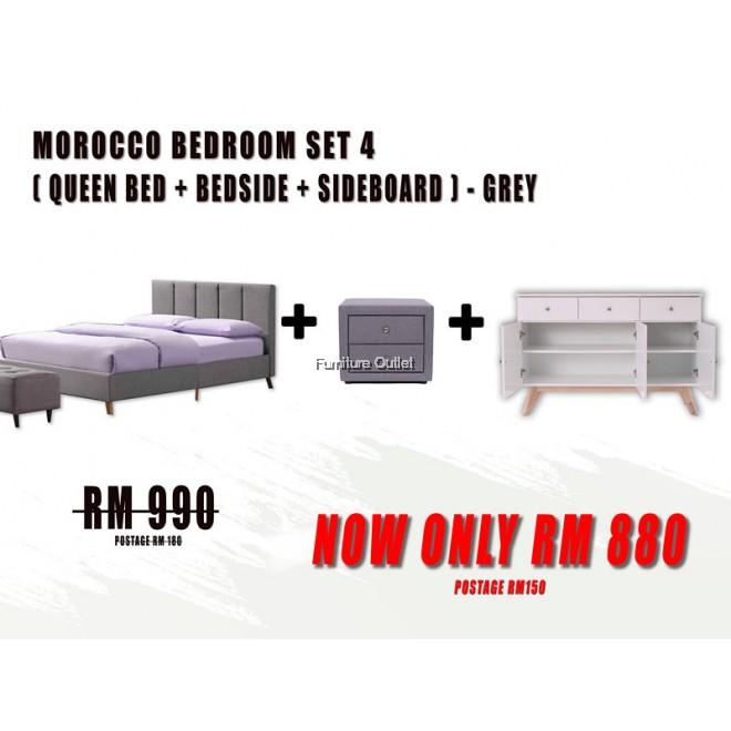 MOROCCO QUEEN BEDROOM SET - 4