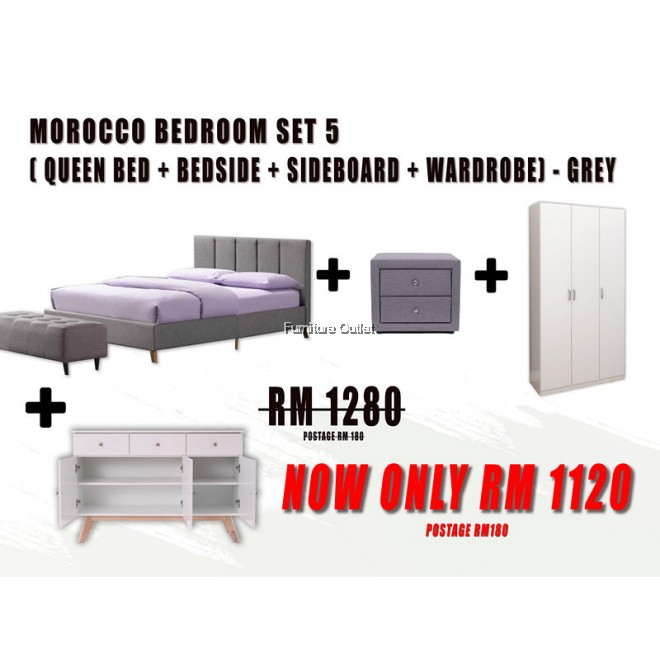 MOROCCO QUEEN BEDROOM SET - 5