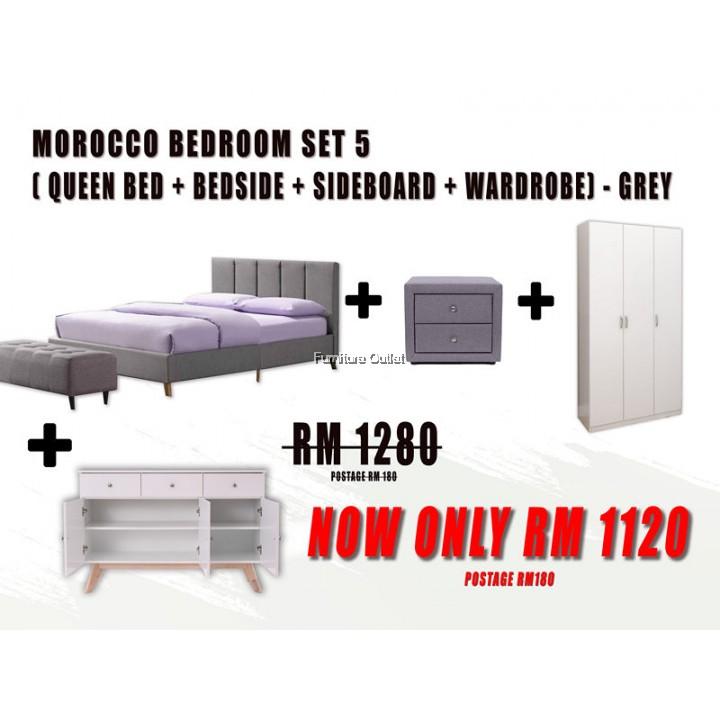 MOROCCO QUEEN BEDROOM SET - 5