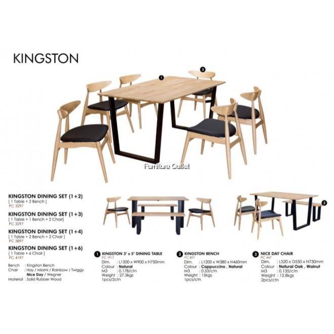 KINGSTON DINING (1+3)