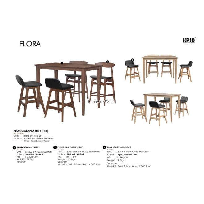 FLORA ISLAND SET - (1+4) / (1+6)