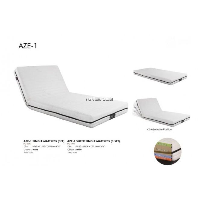 AZE-1 SINGLE (3FT) / SUPER SINGLE (3.5FT) MATTRESS