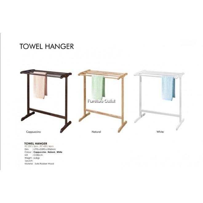 TOWEL HANGER 2 PIECES / TOWEL HANGER 4 PIECES