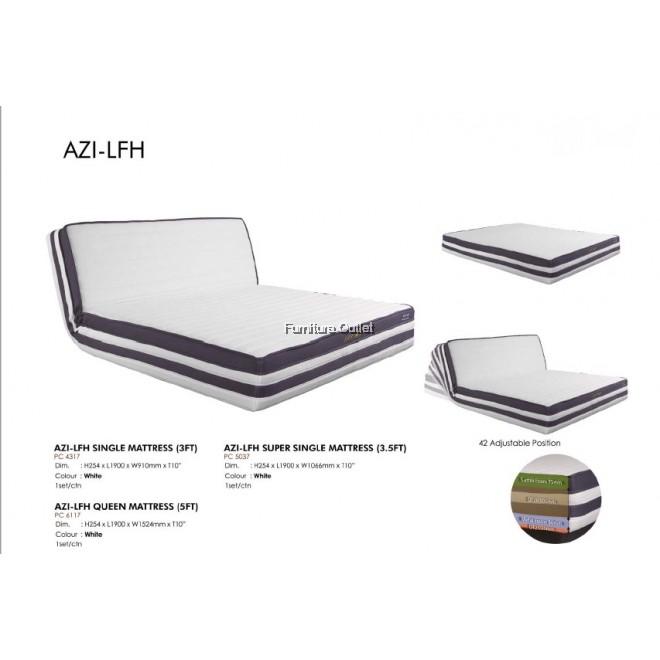 AZI-LFH SINGLE (3FT) / SUPER SINGLE (3.5FT) / QUEEN (5FT) MATTRESS