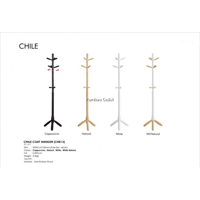 CHILE COAT HANGER (CH813)
