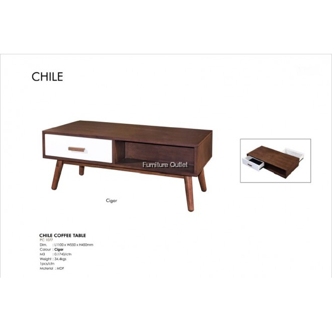 CHILE COFFEE TABLE