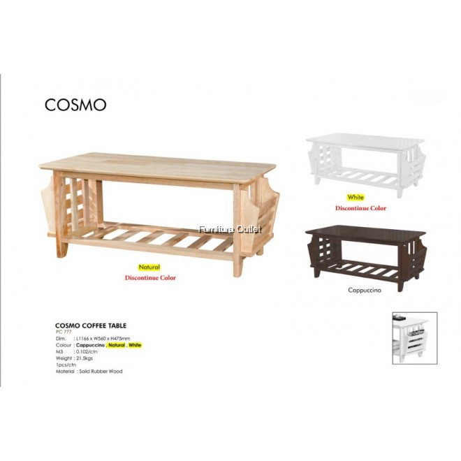 COSMO COFFEE TABLE - CAPPUCCINO