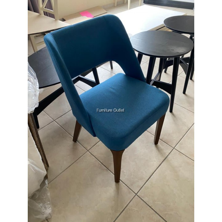 TAYLOR DINING CHAIR - BLUE